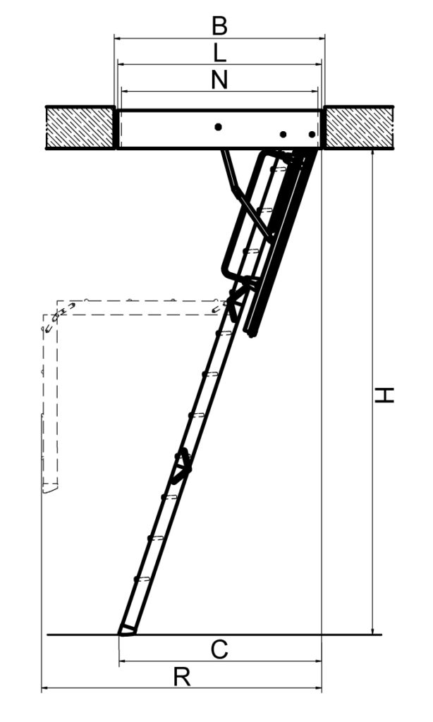 Лестница Fakro LTK Energy