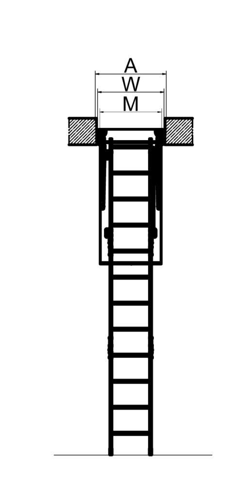 Лестница Fakro LWK Plus